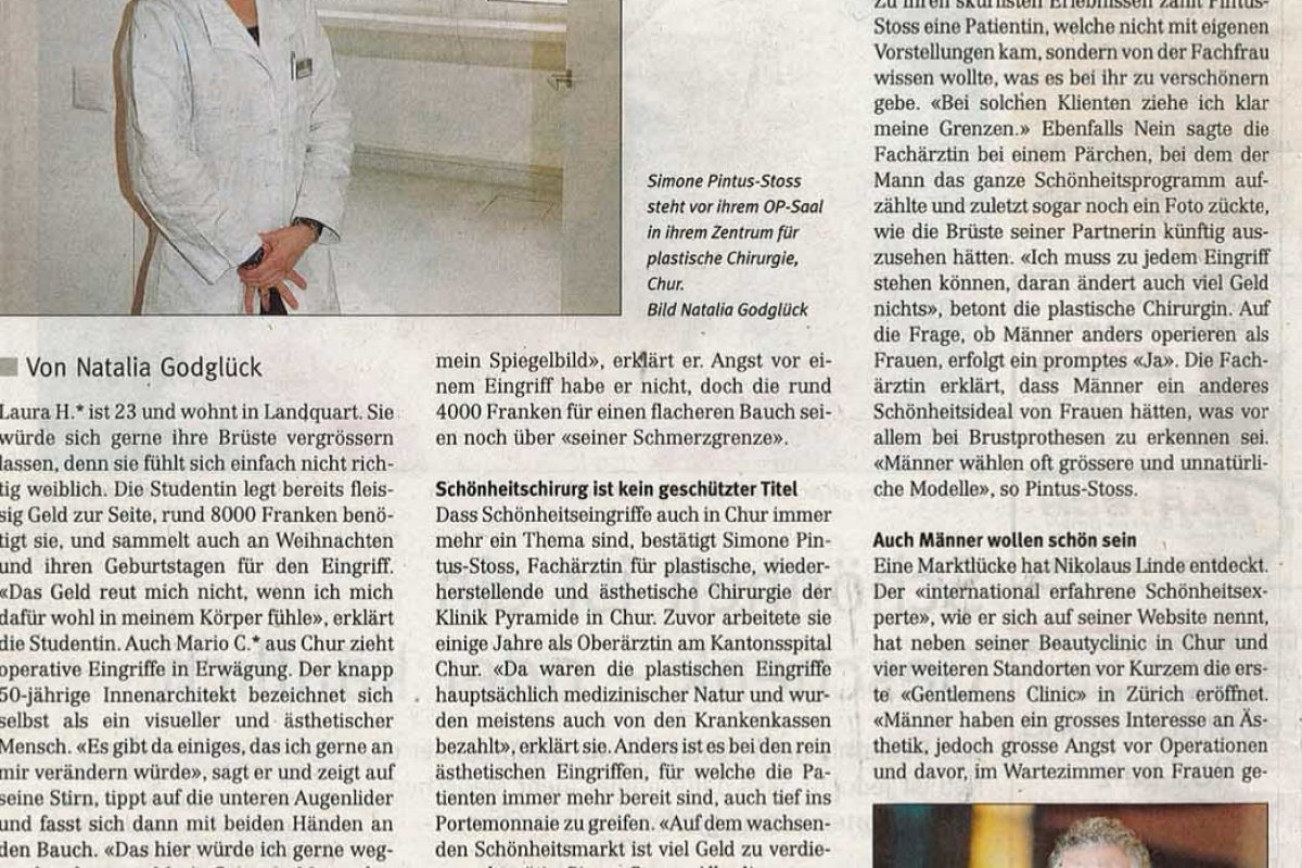 Bünder Woche: Der Schönheitsmarkt in Chur wächst
